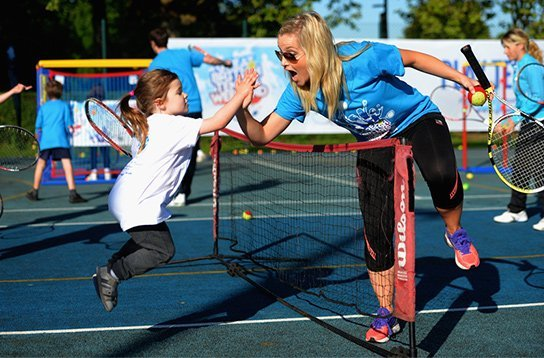 FREE tennis & sport sessions for girls & ladies in Bristol this Saturday June 24.