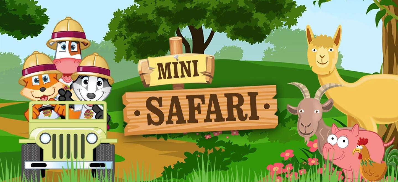 Take the kids on a Drive Thru Mini Safari!