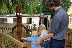 Stick Man trail at Windmill Hill City Farm