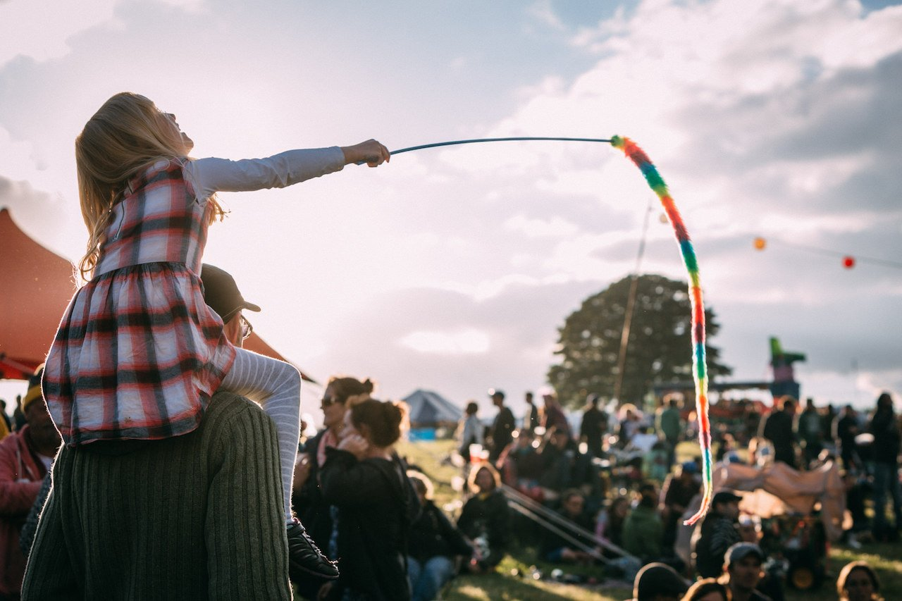 How to get into Glastonbury for free…